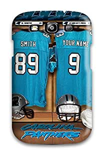 [aXEZeYq620HDJhI]premium Phone Case For Galaxy S3/ Carolina Panthers Tpu Case Cover