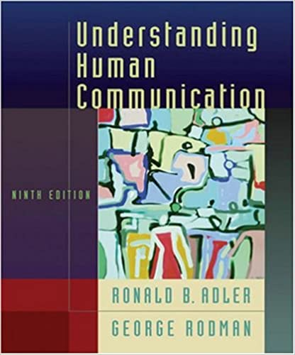 Understanding human communication 9780195178333 communication understanding human communication 9th edition fandeluxe Choice Image