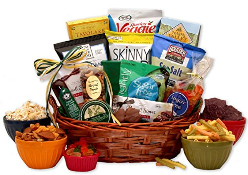 Sugar Free Diabetic Gift Basket (Valentinesday Gifts For Men)