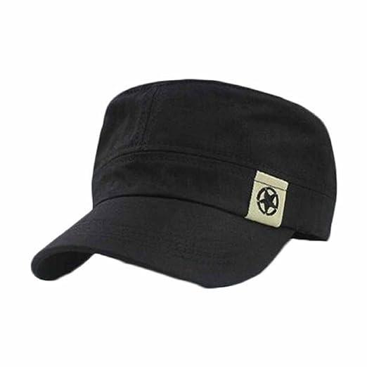 16 opinioni per tongshi Moda Unisex tetto piano Cappello Militare cadetto Patrol Cappello