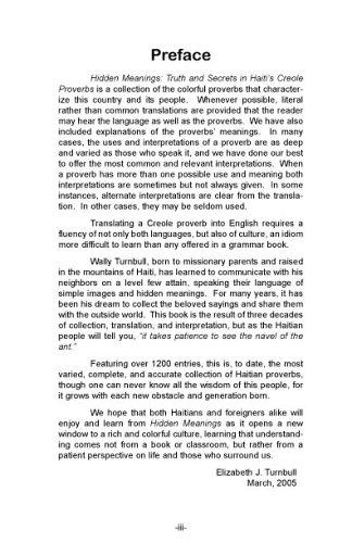 Hidden Meanings: Wally R. Turnbull: 9780967993768: Amazon.com: Books