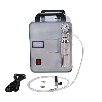 SHIOUCY Oxígeno Agua Plástico 95L/H Generador Agua soldar Llama Pulidora Llama acrílico Máquina Pulidora: Amazon.es: Juguetes y juegos