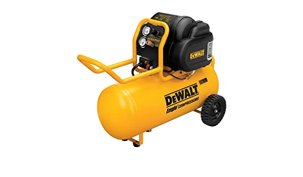 DEWALT D55167 1.6 HP 200 PSI Oil Free High Pressure Low Noise Horizontal Portable Compressor: Amazon.es: Bricolaje y herramientas