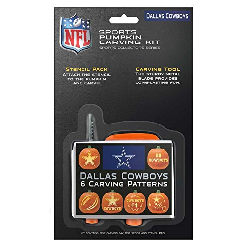 (NFL Dallas Cowboys Pumpkin Carving Kit )
