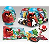 Angry Birds Egg Surprise 6pc / Mega Huevo Sorpresa Angry Birds 6pz