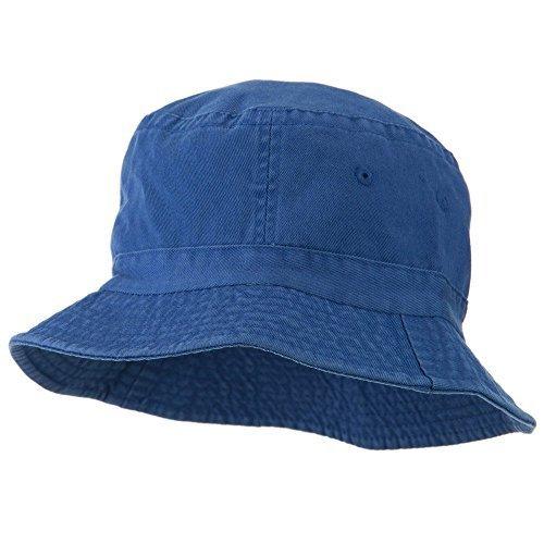 Cameo Youth Pigment Dyed Bucket Hat-Indigo OSFM