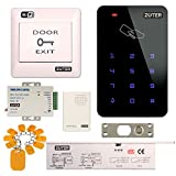 Access Control System, ZOTER WiFi Wireless APP Control Home Office DIY Security Kit RFID Card with Deadbolt Door Lock NC Mode