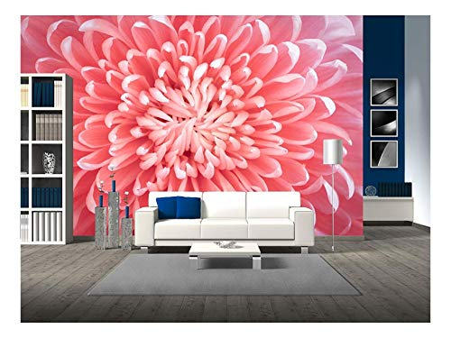 wall26 - Flower - Removable Wall Mural | Self-adhesive Large Wallpaper - 100x144 inches ()