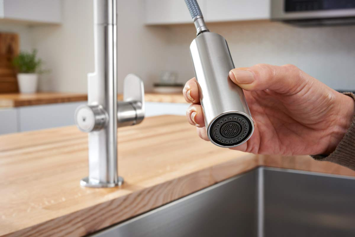 American Standard 4931360.075 Beale Measurefill Touch Kitchen Faucet, Stainless Steel by American Standard (Image #8)