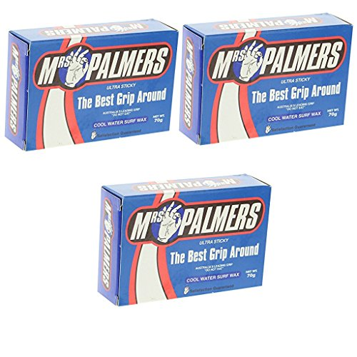 MRS. PALMERS SURF WAX COOL 3 PACK ()