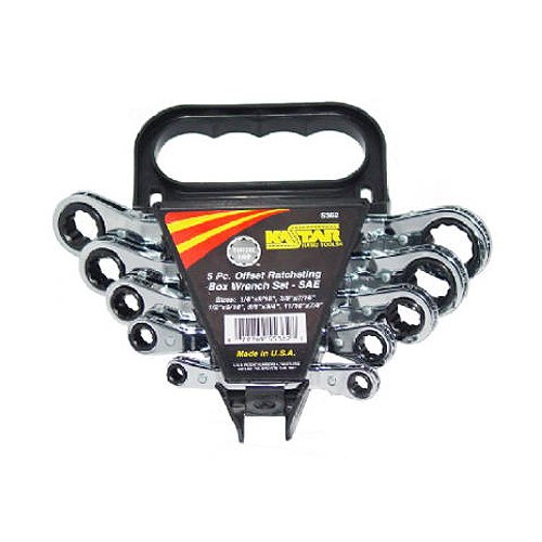 5362 SAE Ratch Wrench Set, (Set Wrench Ratch)