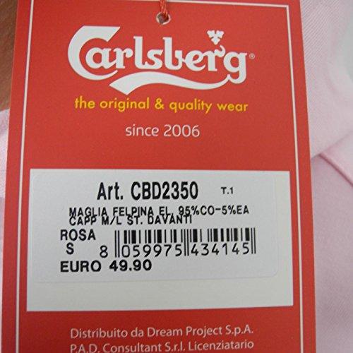 FELPA DONNA CARLSBERG CBD2350 ROSA CAPPUCCIO (S)