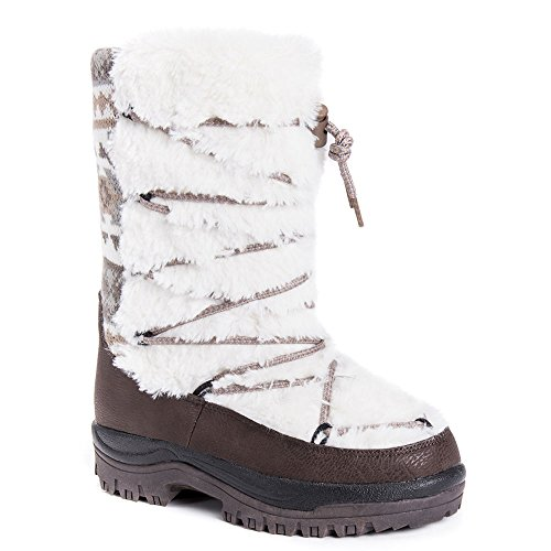 Muk Luks Massak Snowboot Kvinna Boot Elfenben