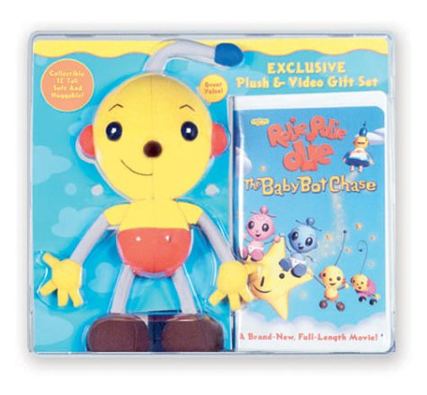 Rolie Polie Olie - The Baby Bot Chase Gift Pack (Includes Plush Toy) [VHS]
