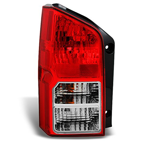 Fits Pathfinder SUV Red Clear Rear Tail Light Brake Lamp Brake Lights Driver Left Side - Tail Nissan Lamp Pathfinder