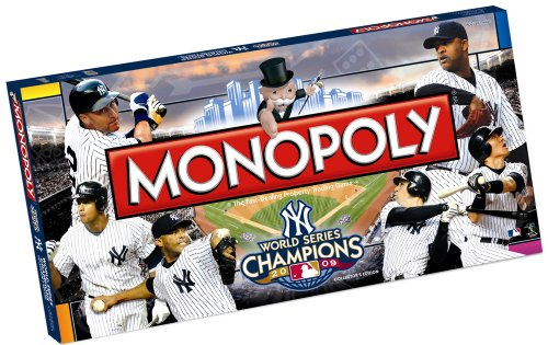 - USAOPOLY 2009 Yankees World Series Champs Monopoly