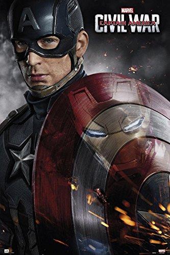Marvel Captain America - Civil War Poster Shield + a Bora Bora poster!