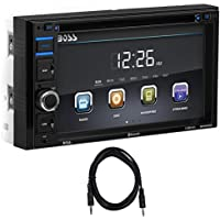Boss Audio BV9364B 6.2 In-Dash Car Bluetooth DVD Receiver w USB/SD/AUX+Cable