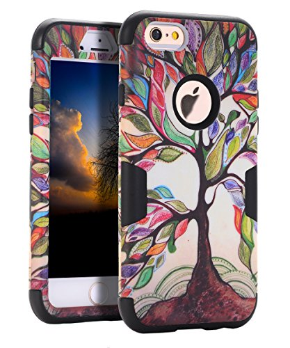 skylmw-silicone-hybridhard-pc-shell-case-for-iphone-6-6s-tree-black
