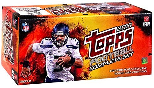 Topps 2014 Football Retail Factory Set NFL Complete with Manufacturer Seal