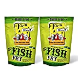 Joe s Gourmet Fish Fry, Seafood Breading Mix, As Seen on Shark Tank, 12 Oz (Gluten Free, 2 Pack)