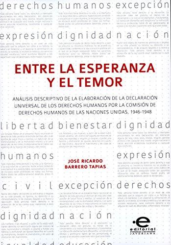 Amazon.com: Entre la esperanza y el temor: Análisis ...