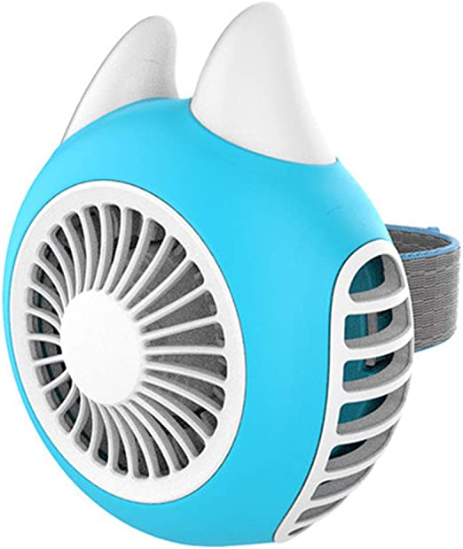 Chunse Ventilador de Mano, Mini Ventilador eléctrico Muñeca ...