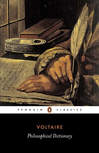 Voltaires Philosophical Dictionary - Philosophical Dictionary (Penguin Classics)