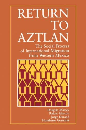 Return to Aztlan: The Social Process of International Migration from Western Mexico (Studies in Demography) (No. - Return Process