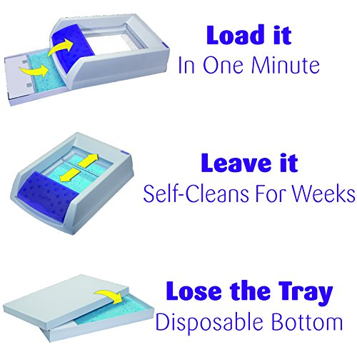 Large Product Image of PetSafe ScoopFree Litter Tray Refills with Premium Blue Crystals - 3-Pack