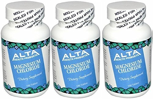 Alta Health Magnesium Chloride (100 x 3) (Magnesium Chloride Tablets)