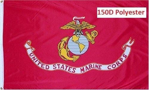G128 USMC US Marine Corps United States Marine Corps Flag 3x