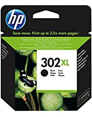 HP 302 XL Nero (F6U68AE) Cartuccia Originale per Stampanti HP a Getto di Inchiostro, Compatibile con Stampanti HP DeskJet 1110; 2130 e 3630; HP OfficeJet 3830 e 4650; HP ENVY 4520