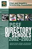 PGSF Directory of Schools 2002-2003, , 0883624060