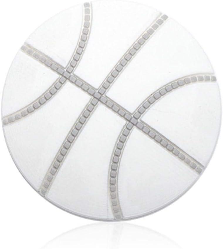 ZOME Silicone Wall Door Handle Anti-Crash Pad Basketball Shape Door Pad Doorstops