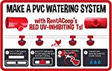 RentACoop Automatic Chicken Water Cup Waterer Kit