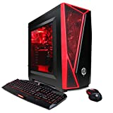 CYBERPOWERPC Gamer Master GMA2600A Desktop Gaming PC (AMD Ryzen 5 1400 3.2GHz, NVIDIA GT 730 2GB, 8GB DDR4 RAM, 1TB 7200RPM HDD, Win 10 Home), Black