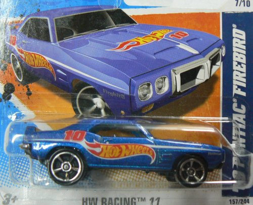 hot wheels 69 pontiac firebird - 3