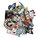 zoidberg decal - Futurama TV Series Decal Stickers Assorted Lot of 23 Pieces