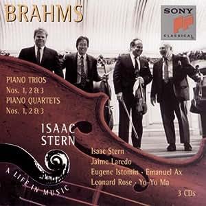 Brahms: Piano Trios Nos. 1, 2 & 3 / Piano Quartets Nos. 1, 2 & 3 (Isaac Stern - A Life in Music, Vol. 21)
