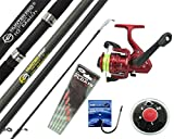 Hunter Pro® 10' Carbon-X Complete Beginners Starter Float Match Fishing Kit Rod & SY200 Reel With Line & Tackle Set