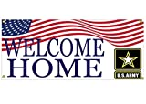 Welcome Home Army Soldier Banner Sign US Army 36'' By 16'' Military Returning From Deployment Or Training