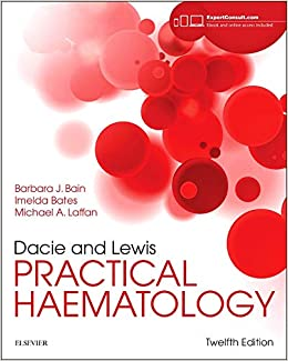 Dacie And Lewis Practical Haematology, 12e por Barbara J. Bain Fracp  Frcpath epub