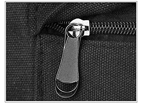 Amazon.com: Myzixuan Gato Lindo dibujos animados Mochila de lona Bordado mochilas para adolescentes Niñas escuela Fashio Negro impresión Mochila mochilas: ...
