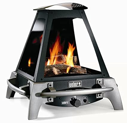 Amazon Com Weber 27000 Flame Outdoor Liquid Propane Gas Fireplace