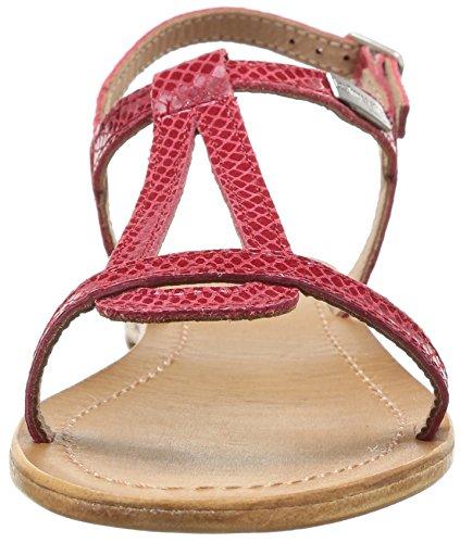 De Tropéziennes Door M. Belarbi Hamat C04178, Damen Sandalen Rot (rood / Snake)