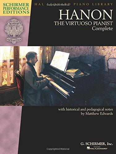 Hanon Piano Book - Hanon: The Virtuoso Pianist Complete - Schirmer Performance Editions
