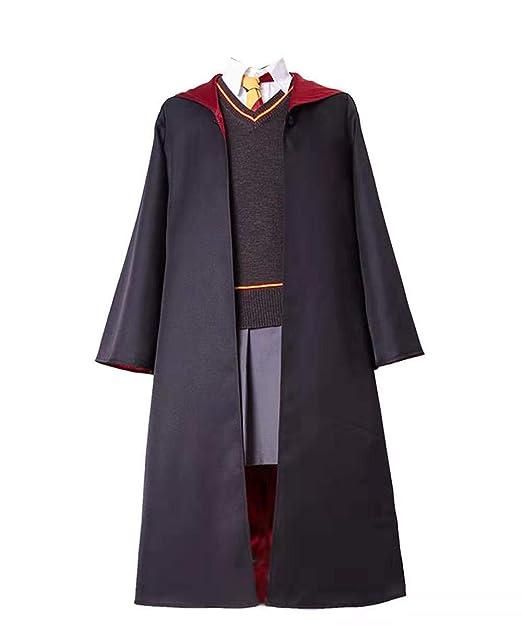 Disfraz de Cosplay de pelicula para ninos adultos Sueter de abrigo calido de otoño con camisa blanca de manga larga y falda