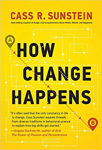 Cover of How Change Happens book by Cass Sunstein