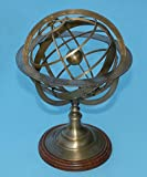Extra Large Solid Brass Armillary Sphere